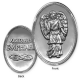 "AngelStar ""Archangel Pewter Medal Token"" Archangel Raphael"